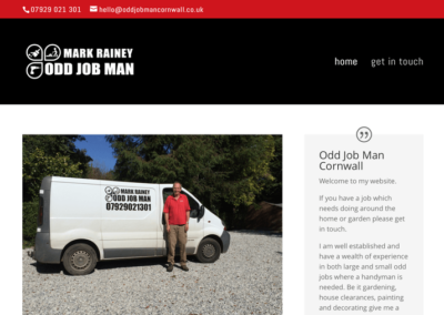 Odd Job Man Cornwall