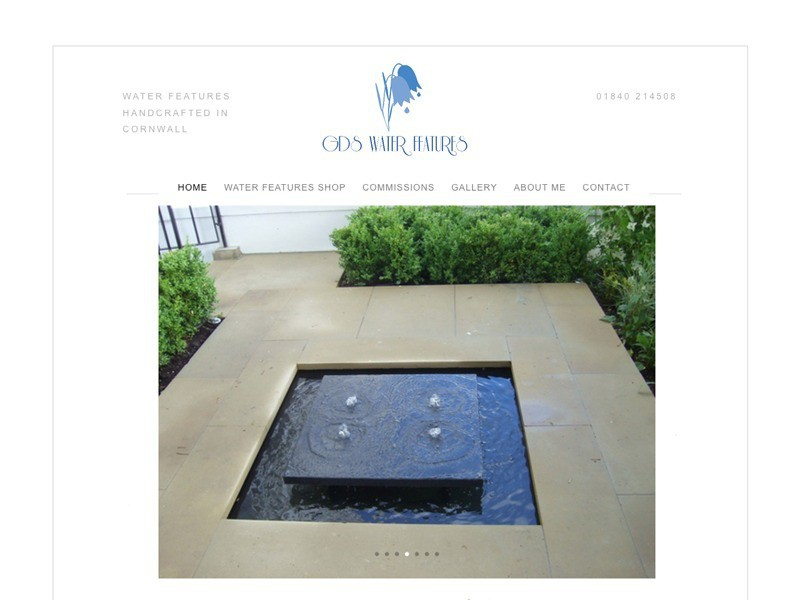 GDS Water Features website