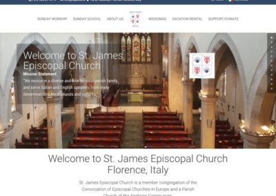 St. James Episcopal Church, Italy