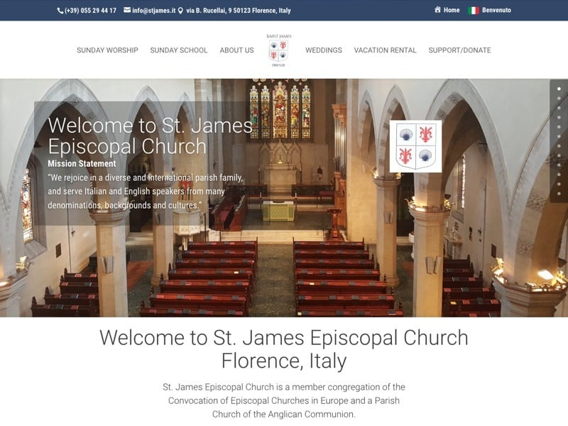 St James Episcopal Church, Italy